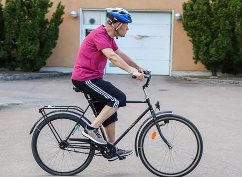 Minne haluat pyöräillä? Kauppaan ja rannalle.