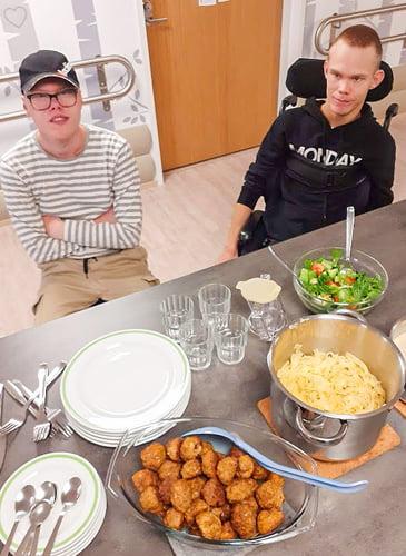 Toivottua ruokaa yhdessä valmistettuna